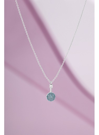 Polo55 Plkly049R02 Kadının Kolye Gümüş